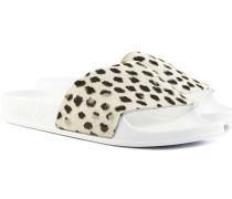 Adilette Premium Sandalen Weiß