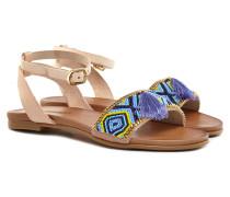Sandalen Damen Blau