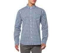 Faber Hemd Blau