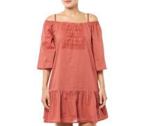 Onlguntal Off Shoulder Dress Kleid Rot