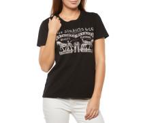 LEVI'S Perfect Tee T-Shirt Schwarz