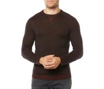 Pullover Dunkelrot