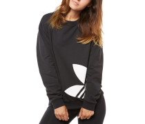 Light Sweatshirt Schwarz