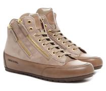 Lucia Camoscio Damen Sneaker Beige