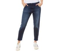 Fayza-Evo 0860L Boyfriend Jeans Dunkelblau