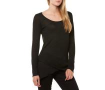 Evelin Round T-Shirt Schwarz