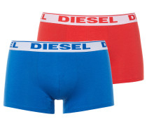 Shawn Two Pack Boxershorts rot/blau