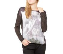 Fee Round T-Shirt Schwarz