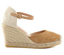 Damen Sandaletten Beige