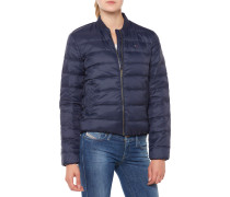 Light Down Bomber Jacke navy blue