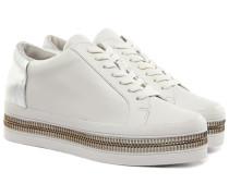 Collette Nappa Damen Sneaker Weiß