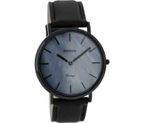 Vintage C7771 Uhr Schwarz