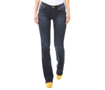 Izzy Bootcut Jeans Dunkelblau