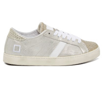 DATE Hill Low Stardust Platinum Damen Sneaker