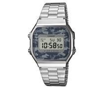 A168WEC-1EF Uhr Silber