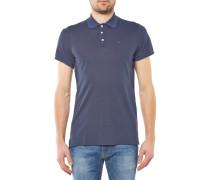 Basic Light Pique Poloshirt navy blue