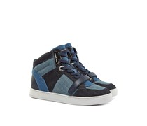 Ollie High Top Sneaker Blau