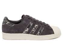Superstar 80s Damen Sneaker Schwarz