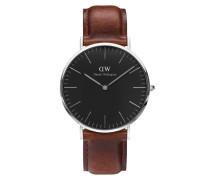 Classic Black St Mawes Uhr