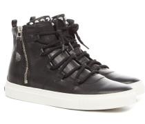 Samba Calf Damen Sneaker Schwarz
