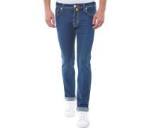Slim Fit Jeans Dunkelblau