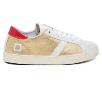 Hill Low Laminated Gold Damen Sneaker