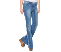 Bootcut Jeans Blau
