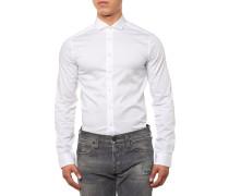 Steel 1 Hemd Weiß