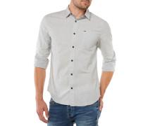 Basic Solid Hemd Grau