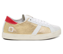 Hill Low Laminated Gold Damen Sneaker