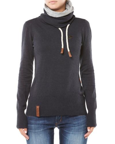 naketano damen schnizzel dizzel popizzel sweatshirt dunkelblau reduziert. Black Bedroom Furniture Sets. Home Design Ideas