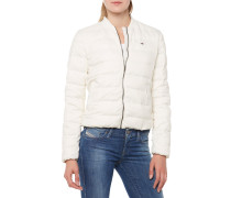 Light Down Bomber Jacke Beige