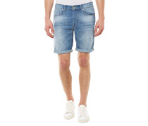 Shnalex Regular Fit Jeansshort Blau