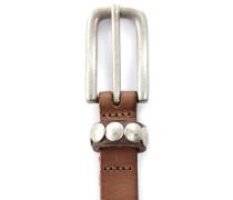LKB52 Vintage Gürtel Braun