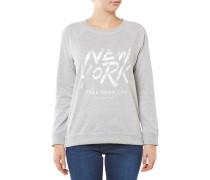 Graphic Sweatshirt Grau