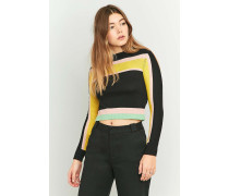 Urban Outfitters  PointellePullover im Bahnendesign