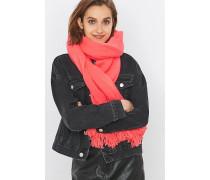 Langer Schal in Rosa