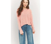 """Pullover """"Deflection"""" in Rosa"""