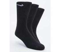 Schlichte, schwarze Socken im Set