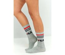 Einfarbige Socken im 3erPack
