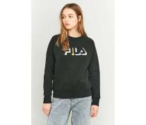 """Sweatshirt """"Greta"""" in Schwarz mit Logo"""