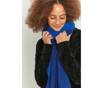 2farbiger, langer und gebürsteter Schal