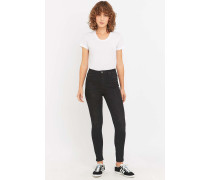 "HighWaist SuperskinnyJeans ""Pine"" in VintageSchwarz"