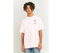 """TShirt """"Illegal Moves"""" in Rosa"""