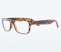 VintageLesebrille in SchildpattOptik