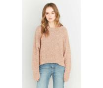 Pullover mit ellipsenförmigem Saum