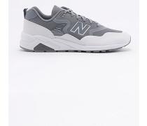 """Sneaker """"580"""" in Grau und Weiß mit Bändern"""