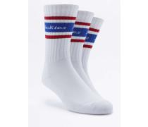 """Socken """"Madison Heights"""" mit marineblauen Streifen im Set"""