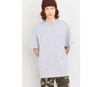 OversizedTShirt im Skaterstyle in Grau