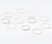 Set mit hübschen Ringen